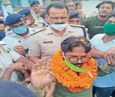bihar wow Jantantrik vikas party, Kumud Patel, Bihar Election, Ara Sadar seat, Election Office, JDU, Bihar